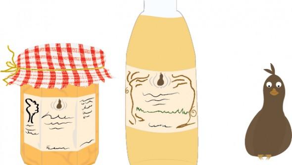 illustraties animatie Lekkernijen uit Grootmoeders keuken